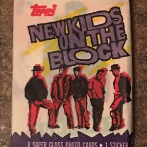 1989 New Kids on the Block Topps Collectible Cards